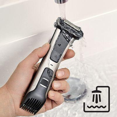 Afeitadora-corporal-Philips-Bodygroom-7025-agua