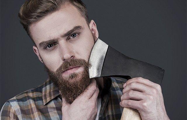 Máquina de barbear de pele delicado