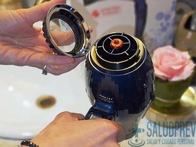 secador de cabelo limpo