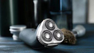 melhor máquina de barbear rotativa