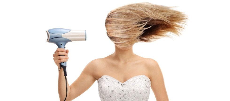 secador de cabelo eléctrico