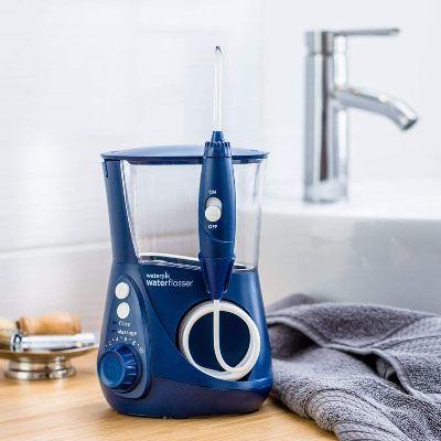 Irrigador dental Waterpik azul