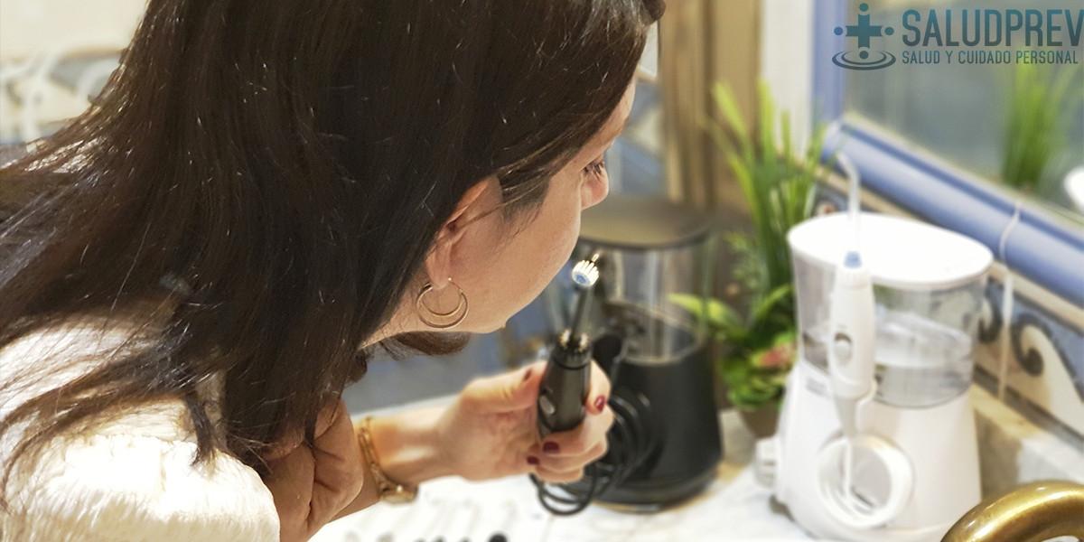 mejor irrigador dental
