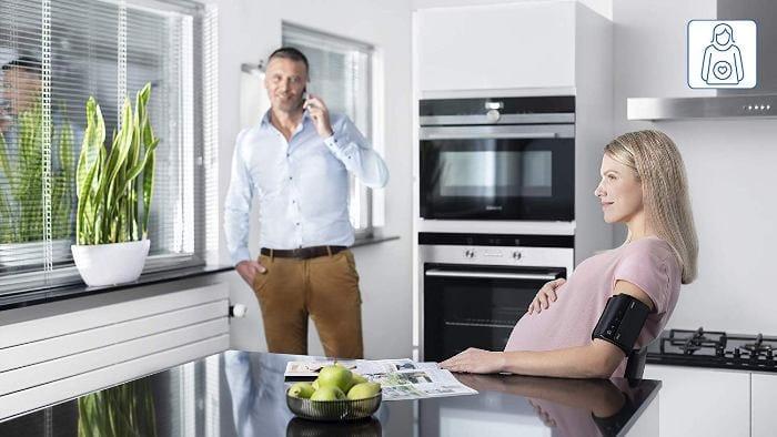 Omron Evolv Preeclampcia embarazada
