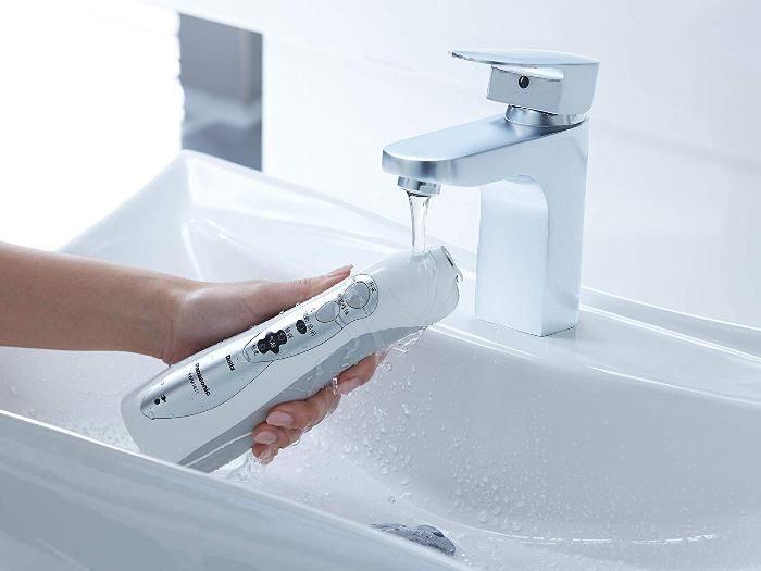 irrigador dental portatil impermeable