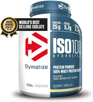 Proteína Whey Dynamize ISO 100 Gourmet