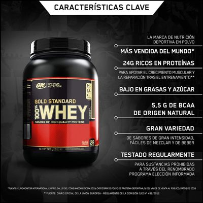 Proteina Whey ON Gold Standar