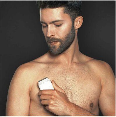 La mejor depiladora eléctrica Braun para hombres