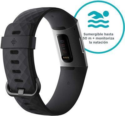 Pulsera de actividad para natación Fitbit Charge 3