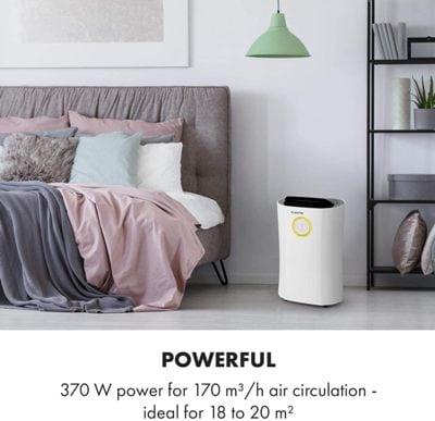 Deshumidificador y purificador de aire Klarstein