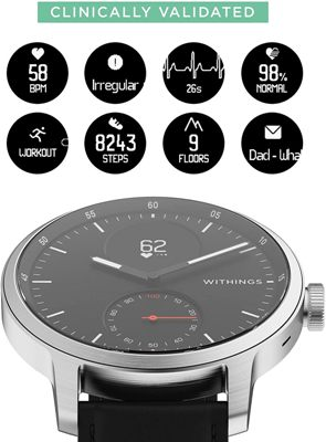 Reloj con ECG Withings ScanWatch