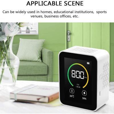 Medidor de CO2 fácil de usar
