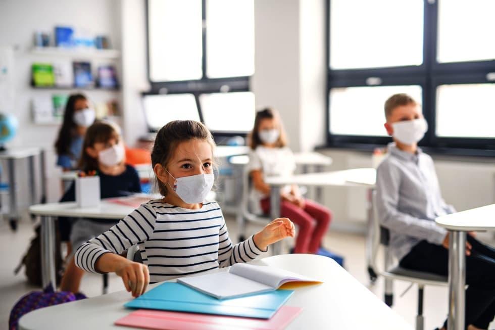 Medidores de CO2 para aulas