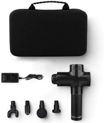Pistola de masaje muscular Bozaap