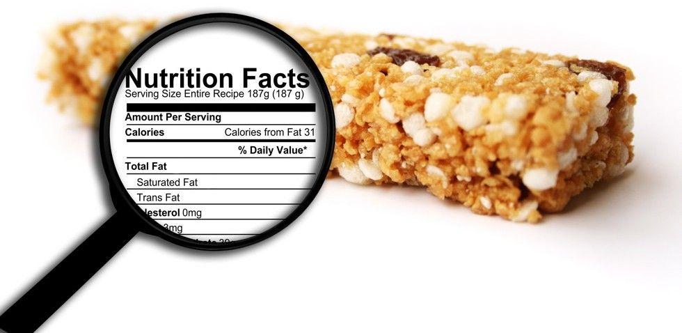 Qué contienen las barritas proteicas