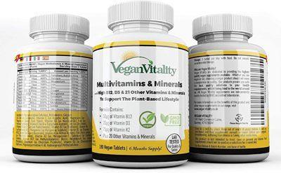 Vitaminas para Veganos VeganVitality