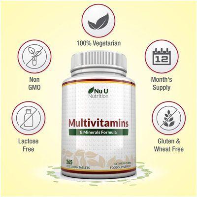 Complejo vitamínico NU Nutrition