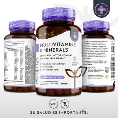 Complejo vitaminico Nutravita