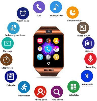 Smartwatch con camara Fenhoo