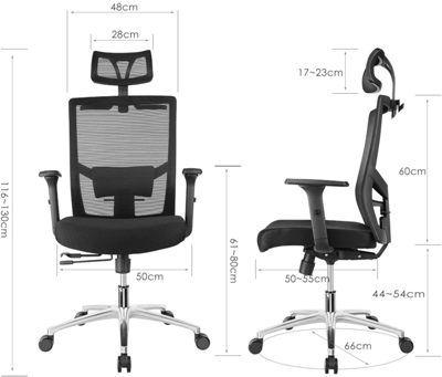 silla ergonometrica escritorio Fixkit