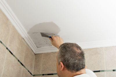 Como quitar manchas de humedad en techos de escayola o yeso