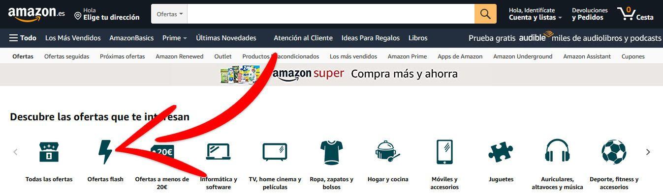 Ofertas Flash Secadores de pelo Amazon