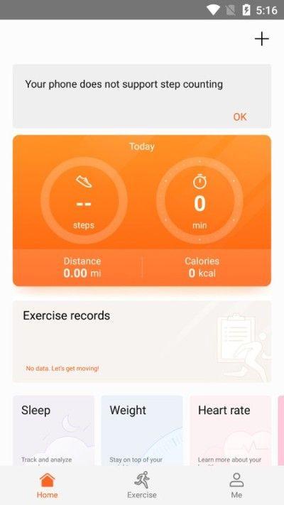 Aplicación Huawei Health