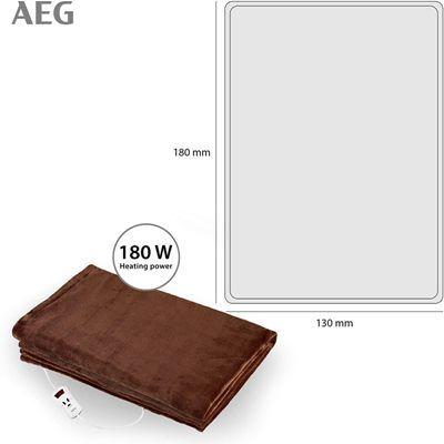Manta eléctrica AEG tamaño