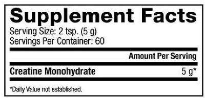 Creatina Dynamize ingredientes