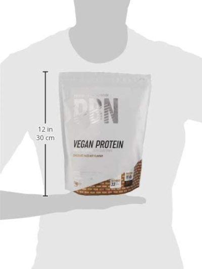 Proteína PBN vegana tamaño