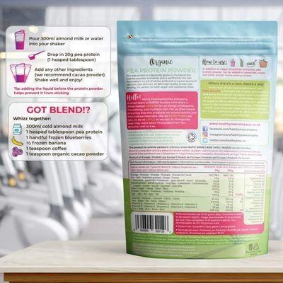 Proteína vegana Thehealthtreecompany ingredientes