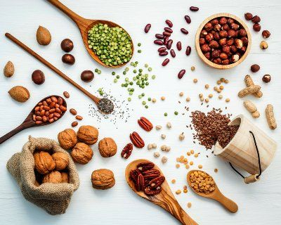 alimentos vegetales proteicos