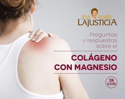 Colágeno con magnesio Ana María La Justicia