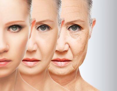 pérdida de colágeno en la cara