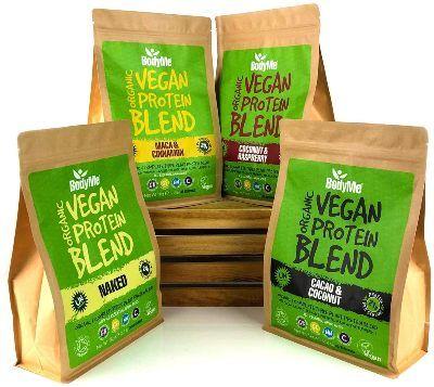 Sabores proteína vegana BodyMe