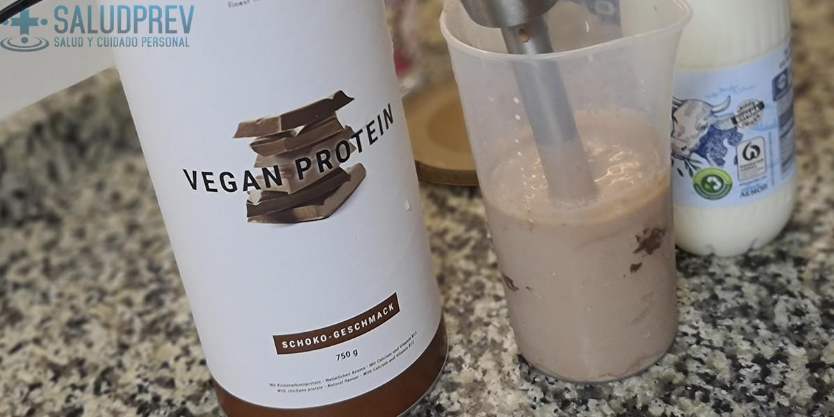 Proteína vegana fácil de disolver