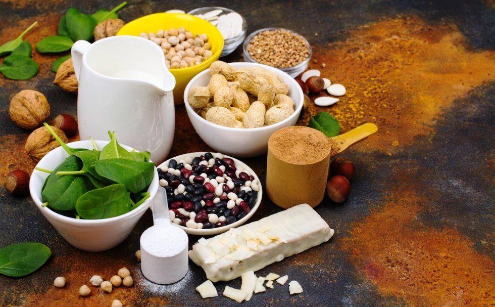 Suplementos de proteína vegetal