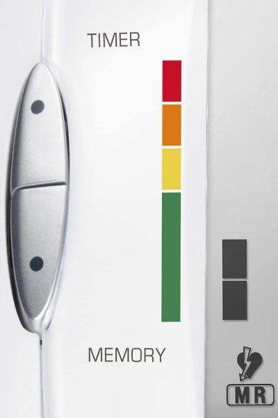 Escala de colores tensiómetro Medisana