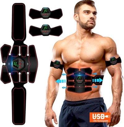 electroestimulador abdominal Roktok