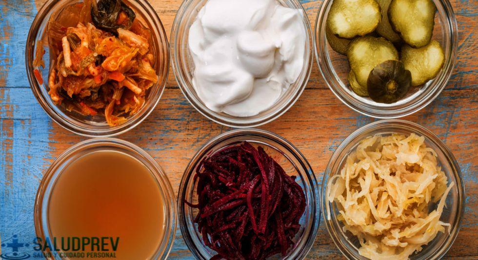 alimentos probióticos fermentados
