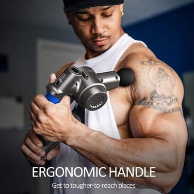 pistola de masaje ergonómica Renpho