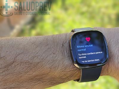 Reloj inteligente con ECG Fitbit Sense