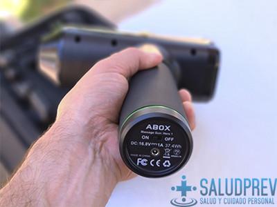 Potencia de la pistola de masaje muscular ABOX